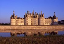 Chambord: The largest of all the Loire Valley castles, this magnificent Renaissance edifice, built by François I, is surrounded by an immense park and hunting preserve which can be visited by horsedrawn carriage. Not far from it, the beautifully furnished Château of Cheverny can be admired from the ground or from the air in one of the captive balloons available on site.