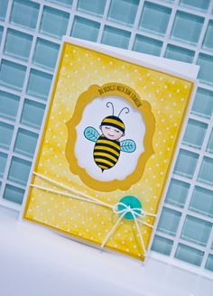 Baby Bumblebee Stampin'UP!