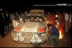 Marlboro Safari Rally 1983 Michèle Mouton − Fabrizia Pons − Audi Quattro A1