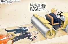 President Trump rips the press again. Many have waited their whole life to see somebody put the media in line the way Trump can. Cartoon by A.F. Branco ©2017. See more Branco cartoons on The Olive Branch Report Republished with permission Comically Incorrect