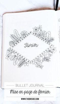 Mise en page de mon Bullet Journal de février !
