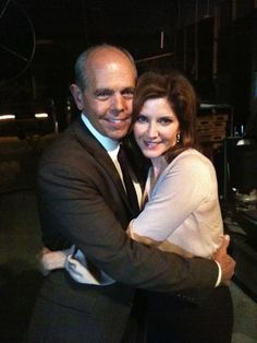JS with the wonderfull actress Melinda McGraw..We will miss you,Diane!