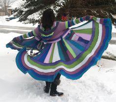 READY TO SHIP Majestic Sweater Coat Size by CraftedByAuntyEm, $300.00