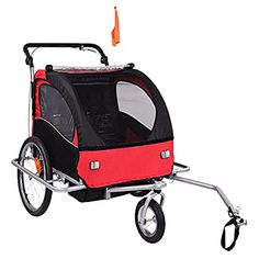 Baby Diego Bike TrailerJogger RedBlack >>> Read more at the image link.-It is an affiliate link to Amazon.