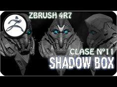 Tutorial Zbrush en Español #11   Como usar la herramienta de ShadowBox - YouTube