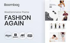 Web Themes, Website Themes, Online Clothing Stores, Online Clothes, Website Design Inspiration, Tool Design, Website Template, Wordpress Theme, Ecommerce