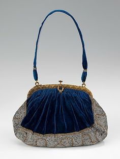 Evening purse, 1910-1920 unlabled French