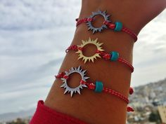Excited to share this item from my shop: Sun bracelet Spring jewelry gift Greek martis bracelet Sunshine jewelry March bracelet Red white bracelet Sun protection bracelet Martisor Jewelry Gifts, Handmade Jewelry, Jewellery, Turquoise Beads, Gifts For Husband, Bracelets For Men, Boyfriend Gifts, Gifts For Women, Red And White