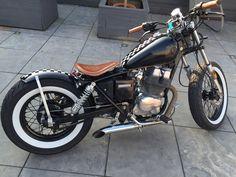 Old honda rebel 250 transformation into bobber.                              …