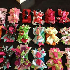 Head bands! Bows for your Clothes