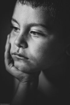 If i... by enzo farina on 500px, kid, child, hand, powerful face, intense, strong, emotional, expression, portrait, b/w