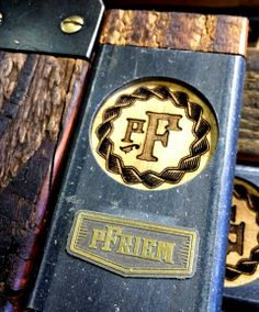 Pfriem Family Brewers tap handles we manufactured in-house.