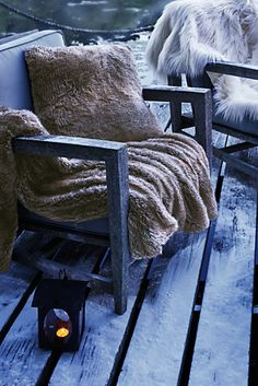 Try our Faux Fur Throw at Lands' End. Everything we sell is Guaranteed. Decks And Porches, Faux Fur Throw, Cozy Place, Lands End, Shopping Bag, Kids Outfits, Luxury Fashion, Throw Pillows, Blanket