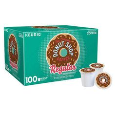 online shopping for The Extra Bold Original Donut Shop 100 K Cupp Pods (A Original Donut Blend, A 100 Count BOx) from top store. See new offer for The Extra Bold Original Donut Shop 100 K Cupp Pods (A Original Donut Blend, A 100 Count BOx) Donut Shop Coffee, Coffee Box, Coffee K Cups, Decaf Coffee, Coffee Drinks, Espresso Coffee, Coffee Mugs, Pod Coffee Makers, Single Serve Coffee