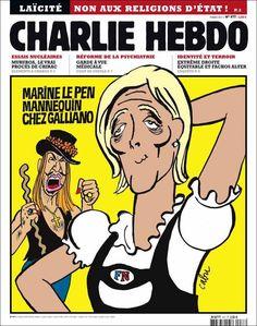 Charlie Hebdo - # 977 - 9 Mars 2011 - Couverture : Cabu