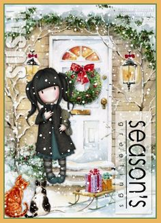 From the Heart PostCards - Christmas/Winter Tags - 2010