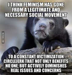 Ironically, I can't even have a discussion about it with anyone I know for fear of being shamed.