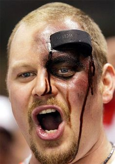 A good hockey fan chants where the puck is. A great hockey fan chants where the puck is going to be. Fall Halloween, Halloween Party, Halloween Costumes, Adult Halloween, Halloween Stuff, Halloween Ideas, Montreal Canadiens, Hockey Mom, Hockey Stuff
