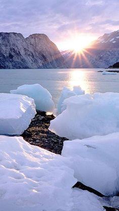 Resultado de imagen para ice landscape