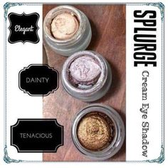Cream shadows!!  www.YouniqueProducts.com/AmyStoklwey