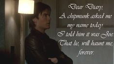 Damon Salvatore Quotes - Vampire Diaries Season 3 - Best Character Quotes | The Vampire Diaries