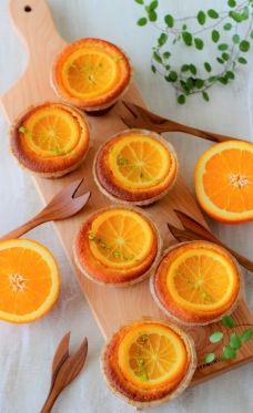 大豆と米糀のスイーツ粉 を使ったオレンジケーキ by あいりおー   cotta