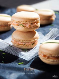 Salmon recipes 396950154631314692 - Macarons-au-saumon Source by Macarons, Quick Appetizers, Appetizers For Party, Appetizer Sandwiches, Macaroon Recipes, Food Is Fuel, Salmon Recipes, Finger Foods, Food And Drink
