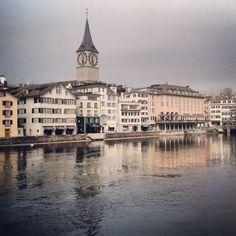 Zürich, Switzerland... ♥ Great city in a great country ♥