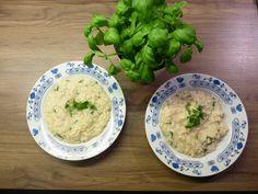 Bazalkové+risotto