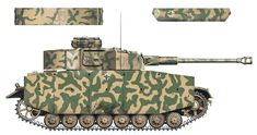 G coded 055 of SS Panzer Division LSSAH, tank commander: SS-Ostubaf. Joachim Peiper, Panzer Iv, Tactical Truck, The Modelling News, Camouflage Colors, Tank Armor, Military Armor, Ww2 Tanks, World Of Tanks