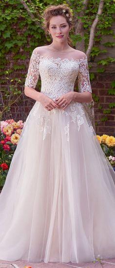Wedding Dresses Paradise - Wedding Dress by Rebecca Ingram - Yvonne | Less...
