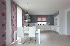 Kuchyně v jemných barvách
