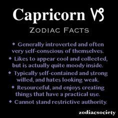 Capricorn Zodiac Facts  #Capricorn #Quotes