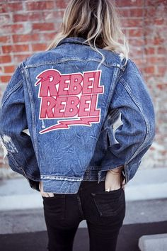 Rebel rebel! Festival inspiration #rebelrebel #denimjacket