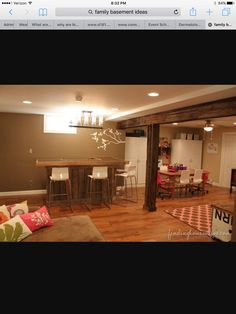 Unfinished Basement Office Ideas : 1000+ ideas about Basement Office on Pinterest  Basements, Unfinished ...