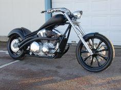 MTL Custom, blacked out Fury... - Honda Fury Forums: Honda Chopper Forum
