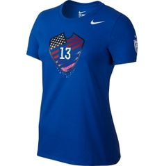 Nike Women's USA Soccer Alex Morgan Hero Blue T-Shirt - Dick's Sporting Goods