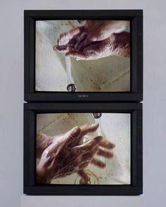 Bruce Nauman, Raw Material Washing Hands,1996 Hand Photography, Drone Photography, Conceptual Photography, Film Inspiration, Gcse Art, Hand Art, Conceptual Art, Hand Washing, Installation Art