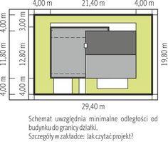 Projekt domu AC EX 11 (wersja C) soft CE - DOM - gotowy koszt budowy My Home Design, House Design, Design Case, Bar Chart, Floor Plans, Architecture, Villa, Arquitetura, Houses