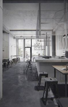 """""""HIKKI"""" is a gastronomic Japanese restaurant with bar located in Osaka, Japan, that stands out for its austere yet serene and exquisite style."""