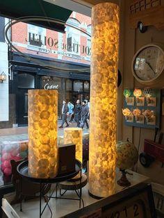 #RouteDuSoleil *** even een Kleine update *** Deze prachtige schelpen lampen zijn net binnen , wat een prachtige mooie zomerse verlichting haal je hier mee in huis en echt weer eens wat anders ...  #haverstraatpassage #Enschede