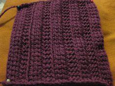 Tunisian Crochet Assortment of different stitches