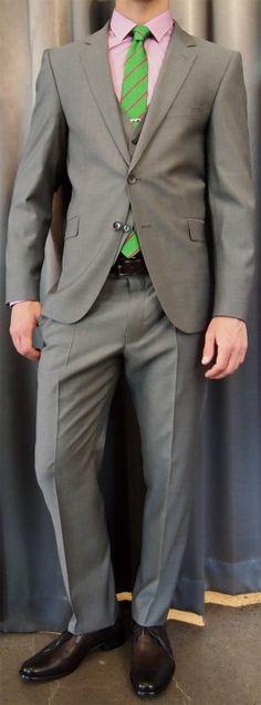 Strellson 3peice notch lapel suit $850 from Gotstyle Menswear.