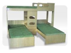 33 Ideas For Baby Girl Bedding Diy Furniture Plans Space Saving Beds, Space Saving Furniture, Diy Furniture Plans, Home Decor Furniture, Bedroom Bed Design, Kids Bedroom, Unisex Kids Room, Loft Bed Plans, Triple Bunk Beds