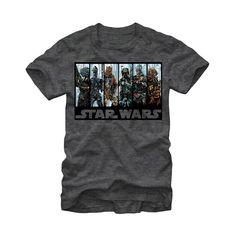 6598c452ef6d9 Star Wars Men s - Bounty Hunters  Guild T Shirt. Boba FettStar ...