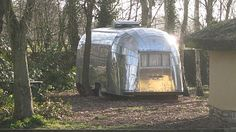 Glamping Norfolk. Stay in this American Airstream caravan in a secluded area at Banham near Atlleborough. Close to city of Norwich and Thetford Forest.