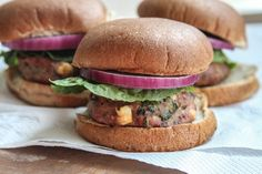 Turkey Burgers with Spinach and Feta via Life With the Champions | A Wedding, Fitness, Food & Lifestyle Blog