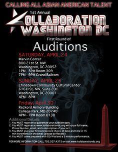 Kollaboration DC Auditions