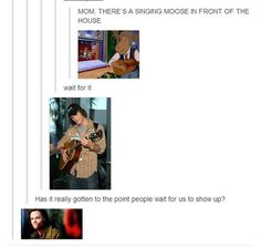 """They have a GIF for singing moose: 