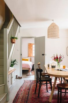 Everyone loved the sneak peek I recently shared of this beautiful bright Airbnb home in Dorset, so I thought you might like to see some more of the place? Eclectic Home, Home Decor Inspiration, Home And Living, Decor, Interior Design, Apartment Decor, Interior, Home Decor, Room